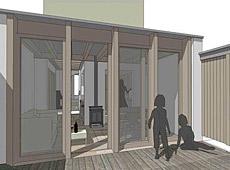 Rozbudowa domu szeregowego w Belfaście