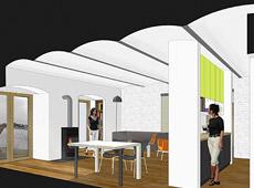 Adaptacja dawnej lodowni na mieszkanie, czyli 'loft' w Chodzieży