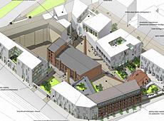 Projekt urbanistyczny kwartału zabudowy centrum Poznania