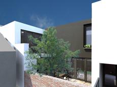 Projekt przebudowy oficyny w zwartej zabudowie w centrum Chodzieży