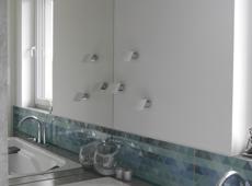 Łazienki z błękitem